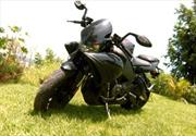 Buell 1125 CR 2009 a prueba