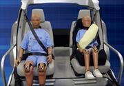 Ford presenta un cinturón de seguridad inflable