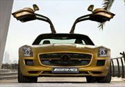 Mercedes SLS AMG Gold Desert Edition