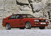 Triunfan Audi Quattro original y R8 e-Tron en Rally Silvretta Montafon