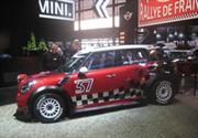 MINI Countryman WRC se presenta en París 2010