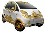 Tata Nano Goldplus, un baño de oro para el auto más barato del mundo