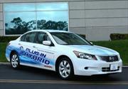 Honda presenta el prototipo del Accord Hybrid.