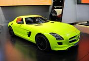 Mercedes-Benz SLS AMG E-Cell en Detroit 2011