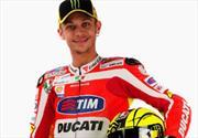 Valentino Rossi vestido de rojo Ducati