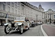 Desfile de Rolls Royce en Londres