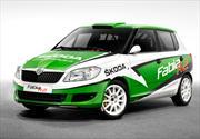 Skoda presenta su nuevo auto de Rally Fabia R2