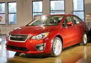 Subaru Impreza 2012 se presenta en el Salón de Nueva York