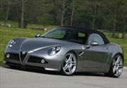 Novitec Alfa Romeo 8C Spider con 600 caballos de potencia.