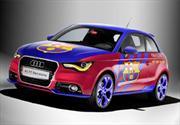 Audi A1 F.C. Barcelona se presenta en el Salón de Barcelona