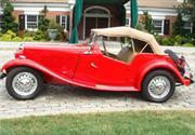 A subasta el MG Roadster TD de Marylin Monroe