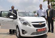 Se presenta el Chevrolet Beat Eléctrico en India