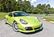 Test de Porsche Cayman R 2012