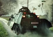 TIV-2, el vehículo que caza tornados