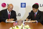General Motors y LG firman acuerdo para desarrollar vehículos eléctricos
