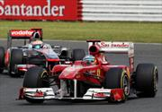 Fernando Alonso triunfa en Silverstone 2011