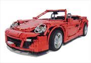 Porsche 911 Cabriolet PDK LEGO, más allá de la imaginación