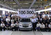 Chevrolet Agile Nº 100.000