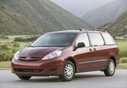 Toyota Sienna llamada a revisión por problemas de corrosión