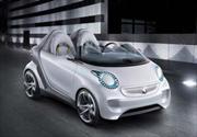 Smart forspeed concept: eléctrico y sin techo