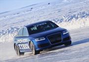 Neumáticos Nokian y el Audi RS6 imponen nuevo récord sobre hielo