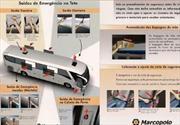 Tarjeta de seguridad para pasajeros