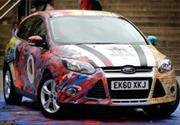 Ford Focus, vestido de arte urbano y tradición