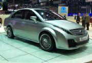 El Tata Eleganté Concept está exhibido en el Salón de Ginebra