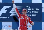 Kimi Raikkonen gana el Gran Premio de Australia
