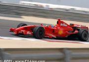 Kimi al frente en la segunda sesión libre en Bahrein