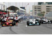La Champ Car se dirige a Long Beach California