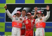 Felipe Massa gana el Gran Premio de España