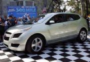 Récord mundial para el Chevrolet Sequel: Funciona por Hidrógeno