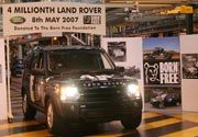 El Land Rover número 4 millones