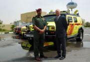 La Defensa Civil de Dubai tiene un Hummer H2 para combatir incendios