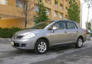 Nissan Tiida Sedán a prueba