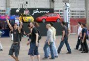 El Fiat Punto junto a Soda Stereo