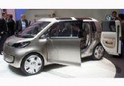 Volkswagen space up! blue Concept: ¡Movido por Litio, Sol y Electricidad!