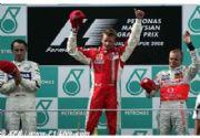 Kimi Raikkonen se impone en Malasia