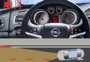 Opel Insignia: cámara de seguridad