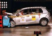 Crash test para el VW Golf VI