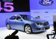 Nuevos Ford Fusion, Lincoln MKZ y Bentley Azure T en L.A.