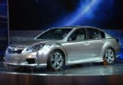 Subaru Legacy Concept: ¡Señores, nació el Legacy 2010!