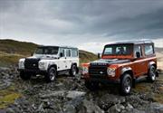 Land Rover Defender, versiones Fuego y Hielo