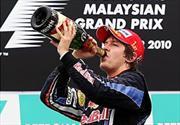 Sebastian Vettel encabeza el doblete de Red Bull en Malasia