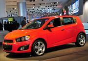 Chevrolet Sonic: Anticipos del Aveo 2012