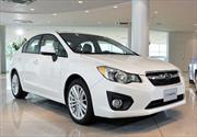 Subaru Impreza 2012: Fotografías en vivo