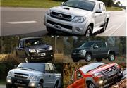 Top 5: las pick-ups más vendidas de Argentina