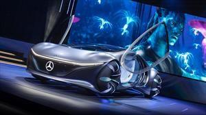 CES 2020: Mercedes Benz se pasa películas con curioso prototipo inspirado en Avatar