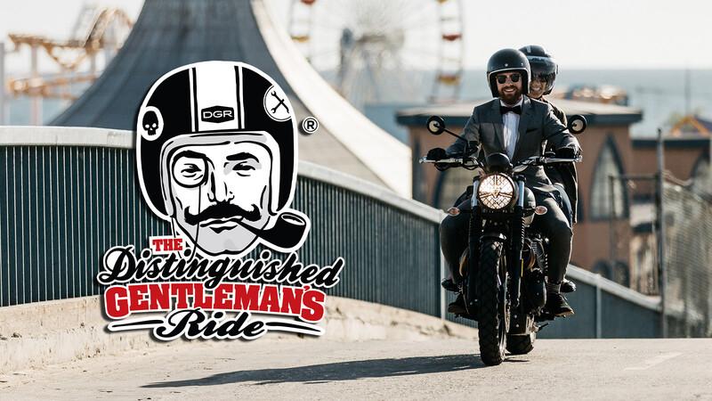 Triumph premiara con motos a los más solidarios en el próximo Distinguished Gentleman's Ride 2020